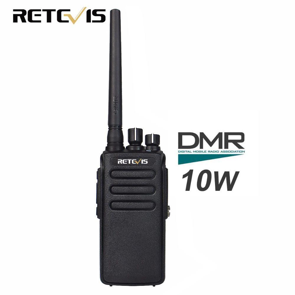 Retevis RT81 10 w Talkie-walkie Numérique DMR Radio IP67 Étanche UHF 400-470 mhz VOX Cryptage Numérique/ radio analogique A9119A