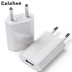 Vente chaude Haute Qualité Européenne UE Plug USB AC Voyage Mur De Charge chargeur Adaptateur secteur Pour Apple iPhone 6 6 S 5 5S 4 4S 3GS