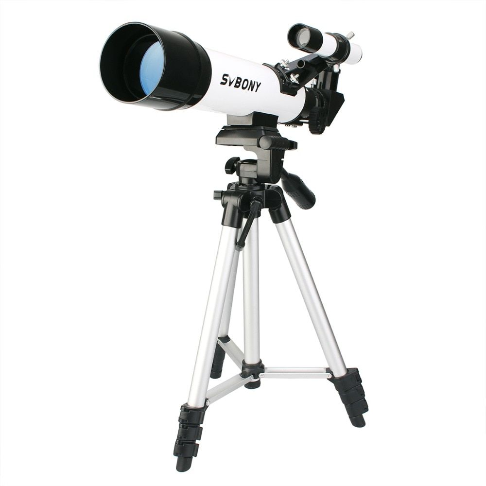 SVBONY SV25 Astronomy Telescope 60/420mm Refractor for Beginner School with <font><b>Cell</b></font> Phone Mount Adapter Professional F9304