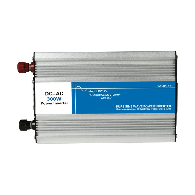 Power 300W Input DC 12V 24V 48V to Output AC 110V 220V Pure Sine Wave off Grid Tie Inverter custom solar LED Display 12 220