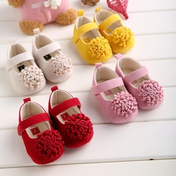 2019 New Festival flower 0-1 years newly born infant baby girls first walkers kid bebe sapato jane shoes Hot