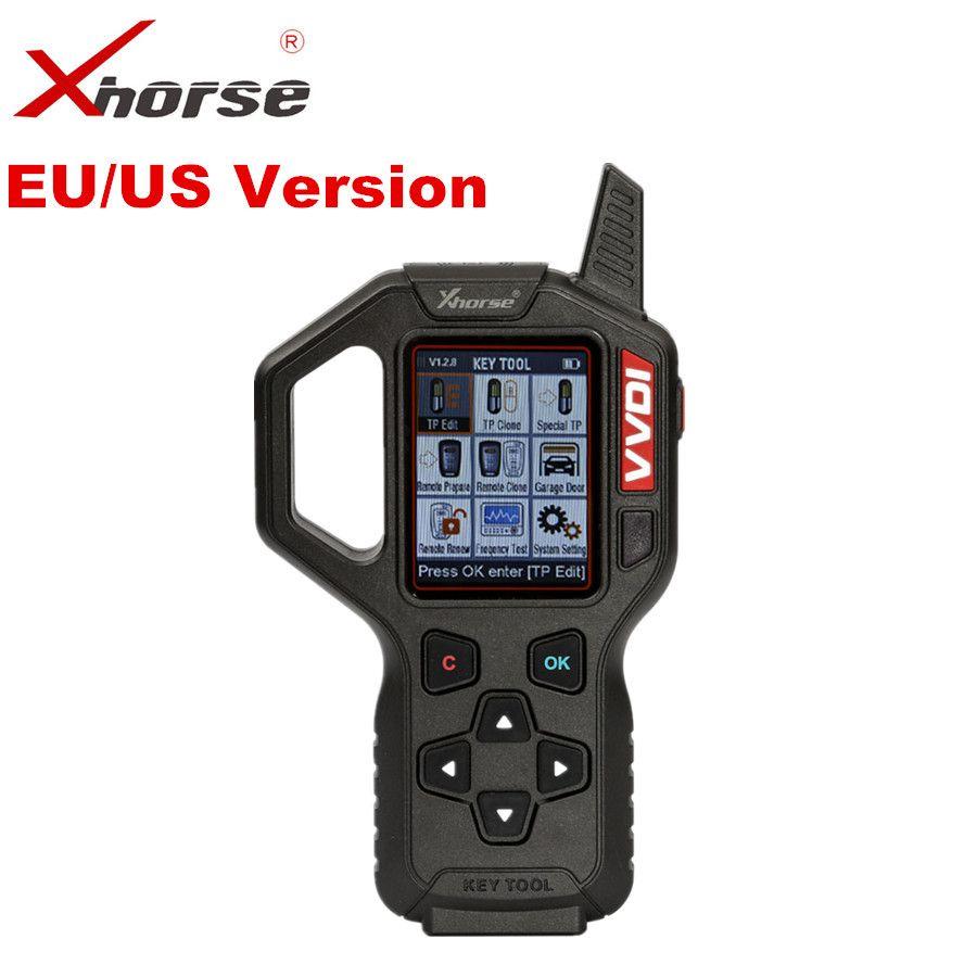 Original Xhorse VVDI Key Tool Remote Key Programmer EU/US Version VVDI Key Tool Auto Transponder Key Generator Programmer