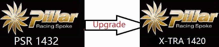 Cost for upgrade the spokes from Pillar 1432 to Pillar 1420