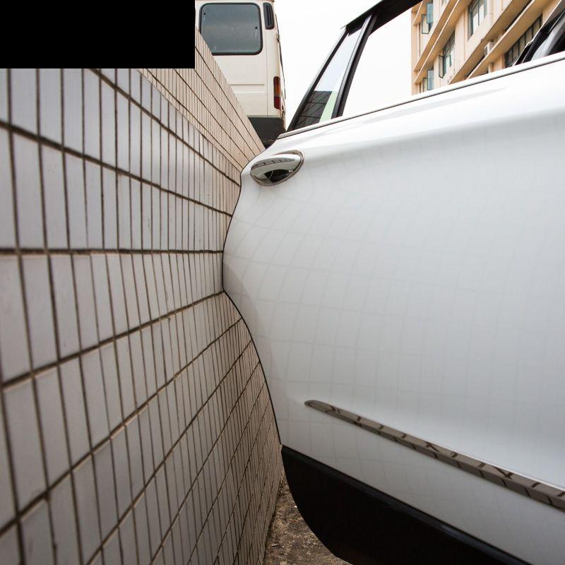 lsrtw2017 Car Styling Door Edge Scratch Crash Protection Strip For land rover evoque discovery sport lr3 lr4 range rover sport