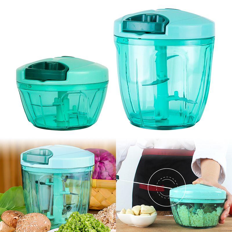 Manuel Fruit légume Chopper main tirer alimentaire Cutter oignon noix broyeur hachoir déchiqueteuse multifonction cuisine accessoires