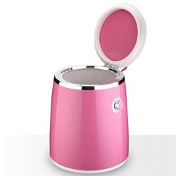 Baby half automatic small mini washing machine socks machine single cylinder with dry wash underwear