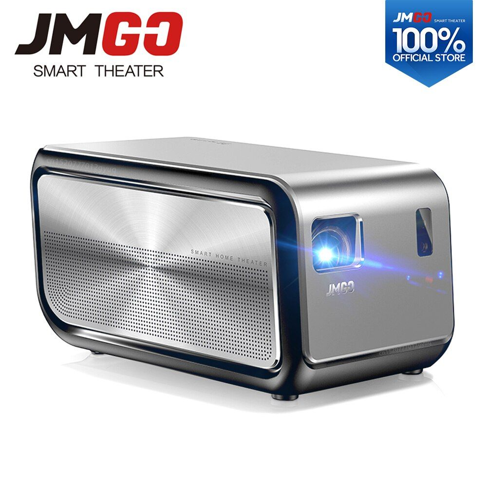 JMGO J6S, Full HD Android Projector, 1920x1080 Resolution, 1100 ANSI Lumen, Set in WIFI, HIFI Bluetooth Speaker, HDMI, 4K LED TV