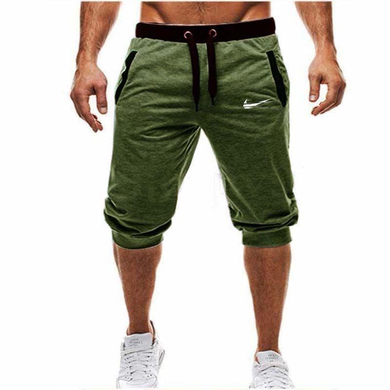 Hommes Baggy Jogger Casual Slim Harem Shorts Doux 3/4 Pantalon De Mode Nouvelle Marque Hommes Pantalons de Survêtement D'été Confortable Mâle Shorts 2018 nouveau