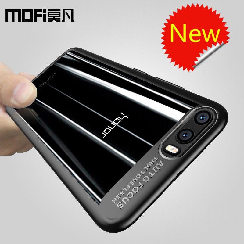Pour Huawei honor 9 cas d'origine silicone transparent de couverture arrière pour Huawei honor 9 téléphone cas capas MOFi honor 9 cas couverture