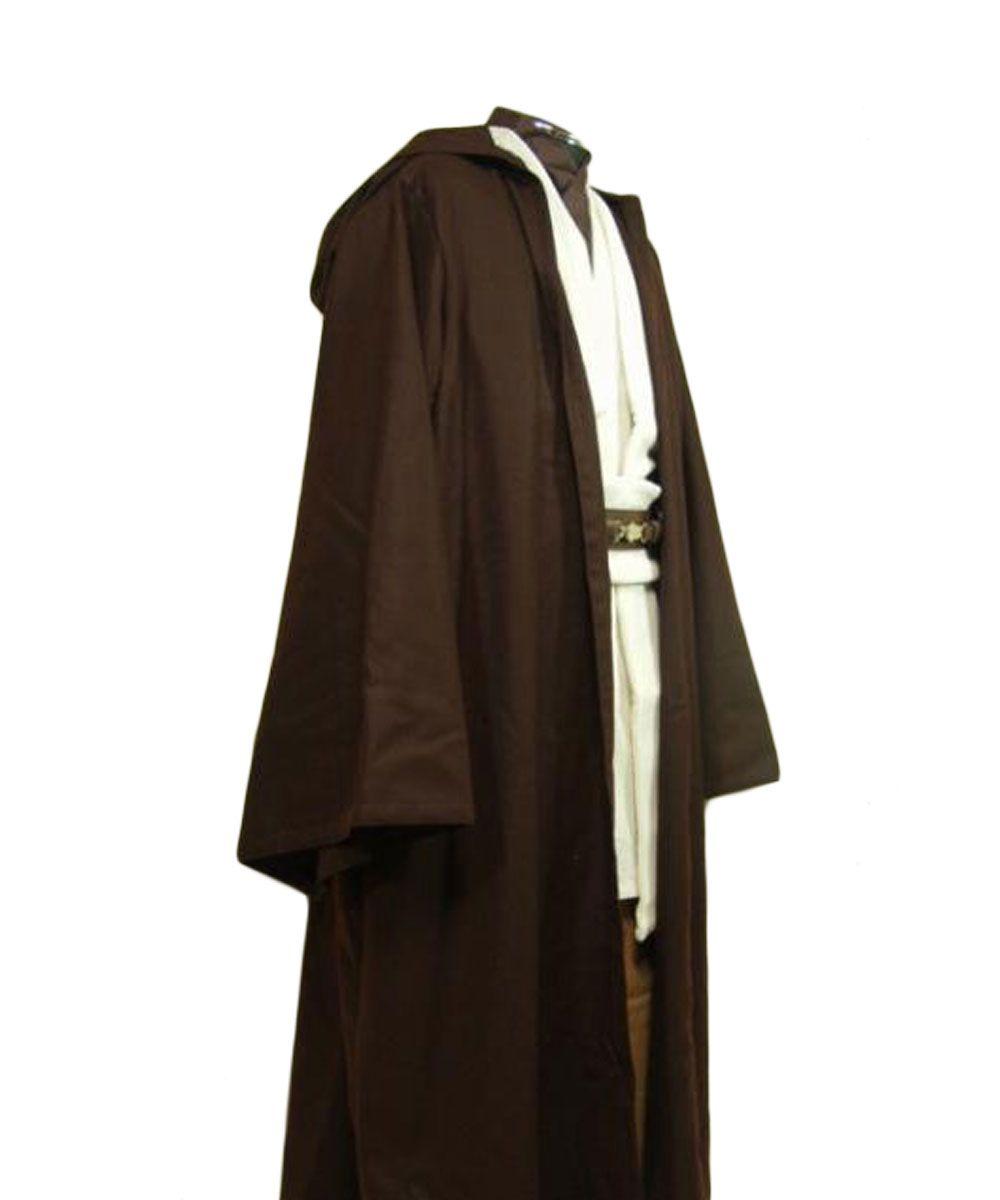 Star Wars Косплэй Оби-Ван Кеноби джедай костюм мастер Туника Хэллоуин Косплэй костюм на заказ для Для мужчин подарок на Новый год Любой Размер