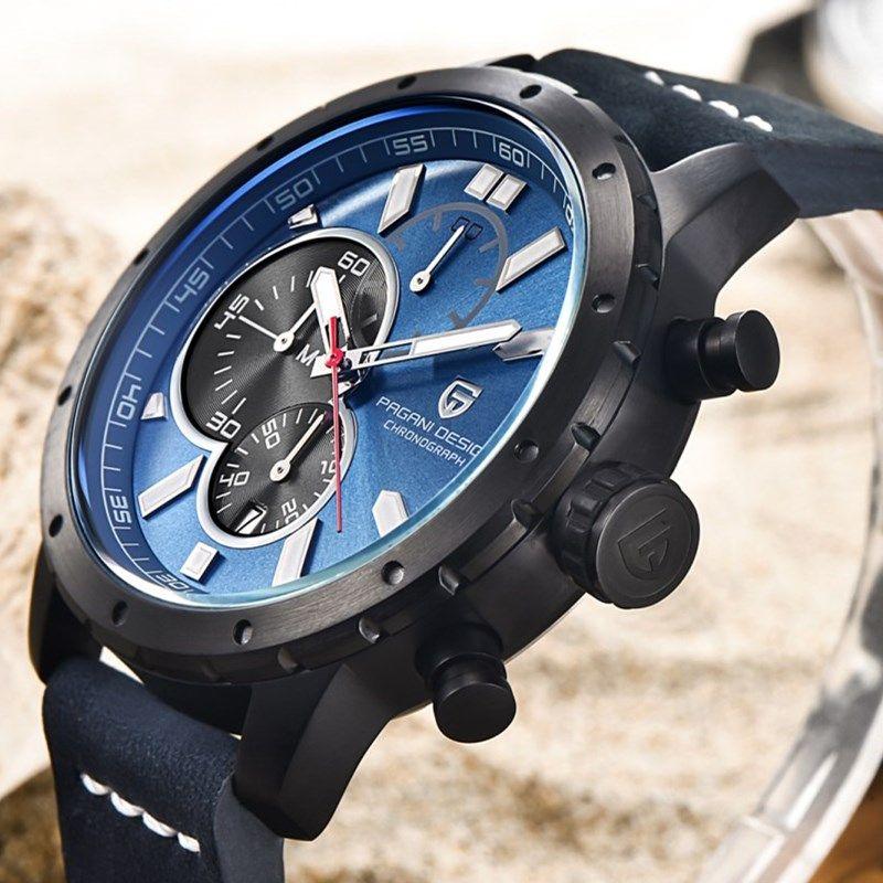 Luxusmarke PAGANI DESIGN Uhren Männer Military Wasserdicht Chronograph Sport Quarzuhr Relogio Masculino Saat Dropshipping