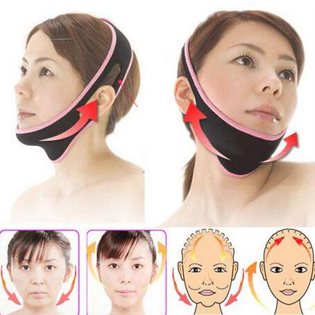 Face Lift Up Belt Sleeping Face-Lift Mask Massage Slimming Face Shaper Relaxation,Facial Slimming Mask Face-Lift Bandage