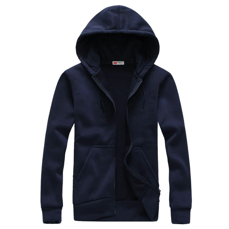 Men's Fashion Long Sleeve Hip Hop Hoodie With a Hood Cardigan <font><b>Lovers</b></font> Men Hoodies 2018 Sudaderas Ho Navy Blue Tute Sportive Uomo