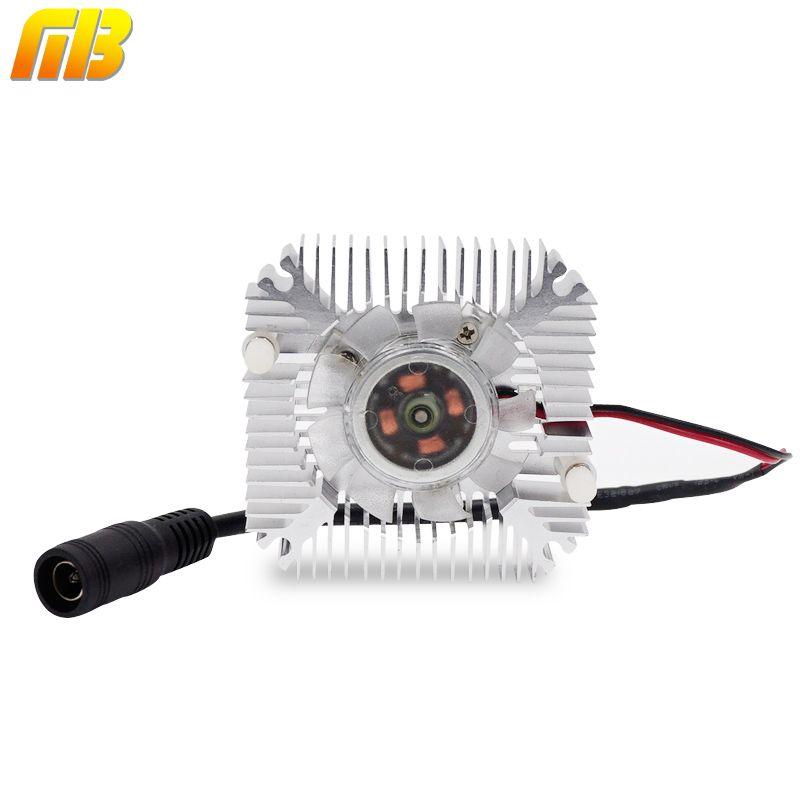 [MingBen] 1 Unidades Alta calidad 55x55x12mm Radiador Con Ventilador Disipador De Aluminio Extruido Perfil para Disipación de Calor Electrónica