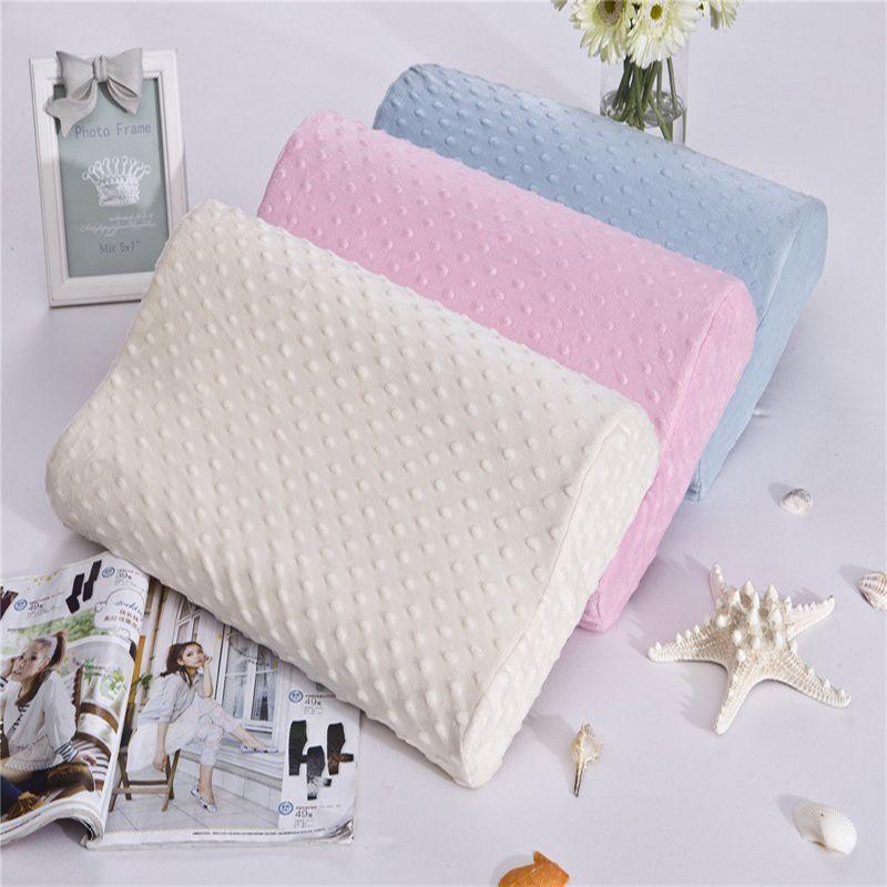 3 couleurs mousse mémoire oreiller orthopédique oreiller voyage sommeil Latex cou oreiller rebond grossesse oreiller protéger soins de santé