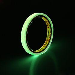 Auto-adhesivo cinta luminosa DIY resplandor en oscuro advertencia visión nocturna car sticker Car-styling 10mm * 3 m