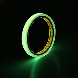 Self-adhesive Luminous Tape DIY Glow In Dark Warning Tape Night Vision Car Sticker Car-styling 10mm*3m