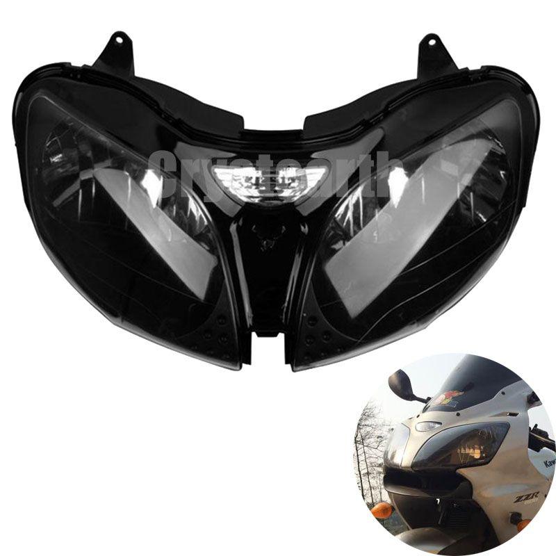 For Kawasaki ZZR600 05 06 07 08 Ninja ZX-6R ZX6R 00 01 02 ZX9R ZX 9R 2000 2001 2002 2003 Motorcycle Headlight Headlamp Lighting