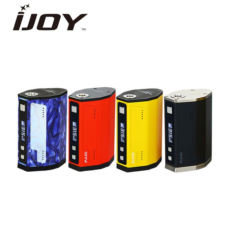 Original 315 W IJOY MAXO QUAD TC boîte MOD alimenté par 18650 batterie Firmware Upgradable pour RDA RTA atomiseur E-Cigarette énorme puissance