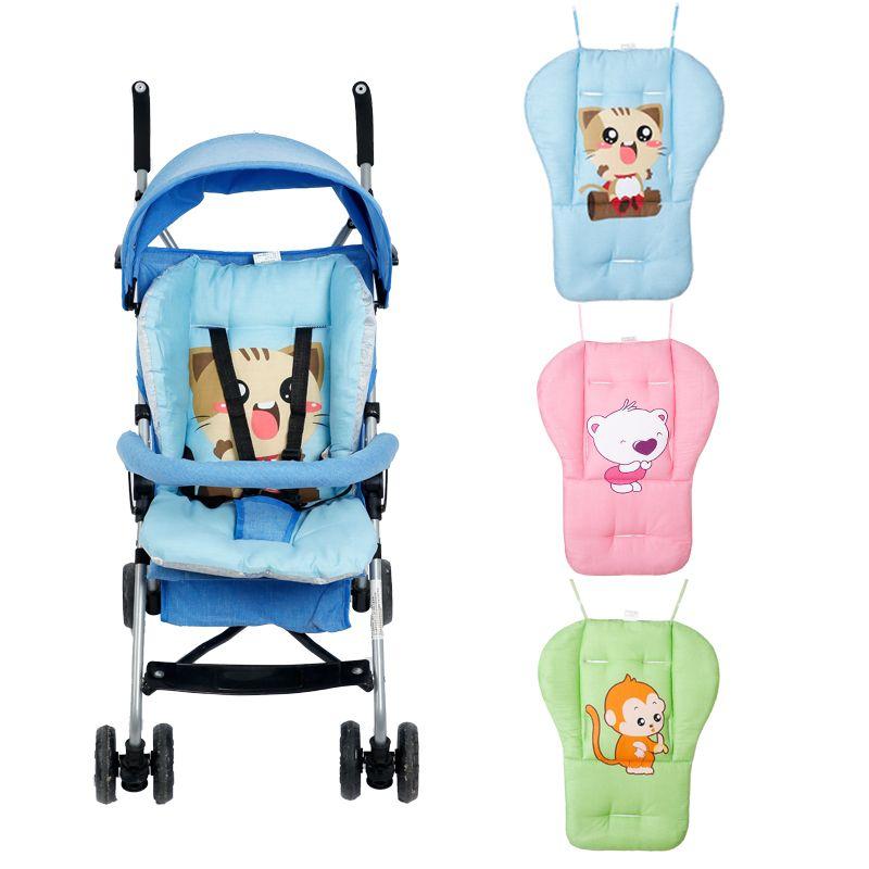 Bébé poussette siège coussin coton pad à manger chaise général dot coussin coton épais tapis couverture enfant panier siège doux matelas