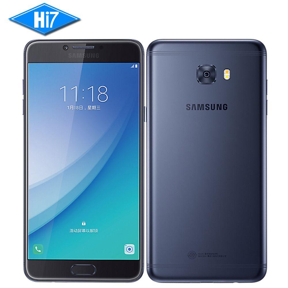 Новинка 2017 года оригинальный Samsung Galaxy C7 Pro смартфон 4 г Оперативная память 64 г Встроенная память Octa Core Dual SIM 5.7