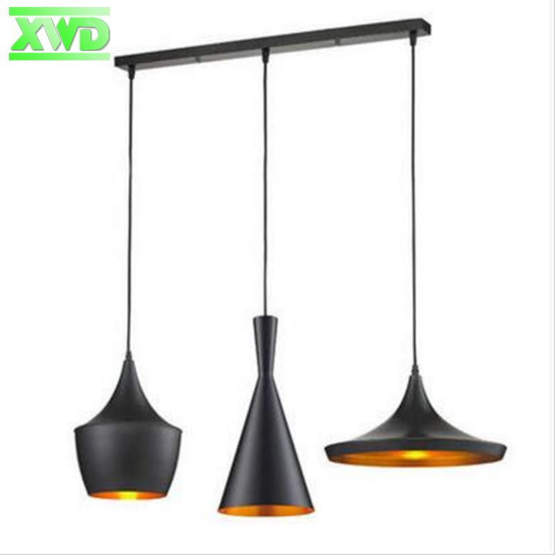 Modern Attractive Lamps Musical Instrument 1 Set 3 Pieces Pendant Lights Restaurant Hanging Pendant Light For Dinning Room DG503