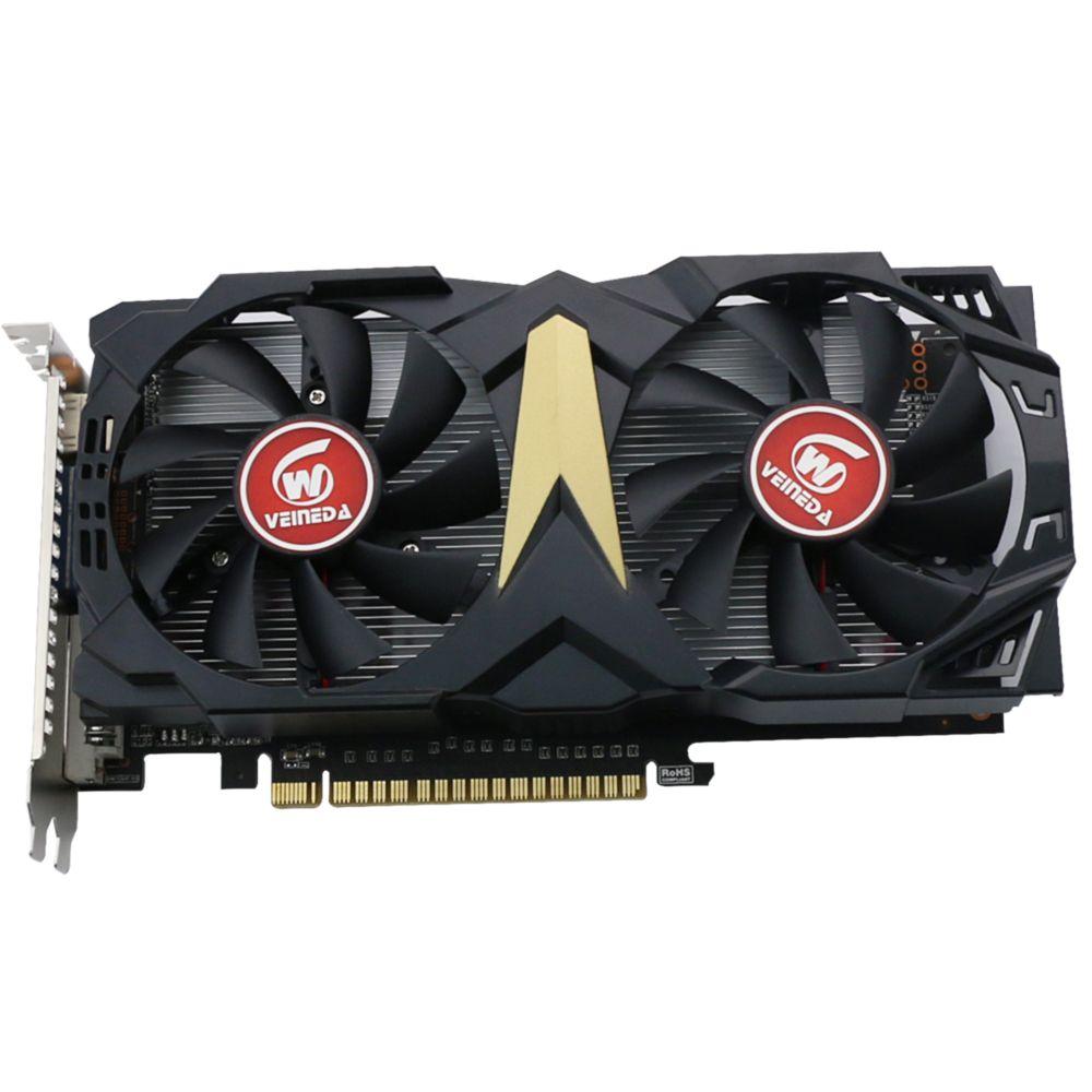 VEINEDA Original GT740 GPU Grafikkarte 2G GDDR5 128Bit Grafiken VGA Spiel Karte 993/5000 MHz für nVIDIA Geforce Spiele