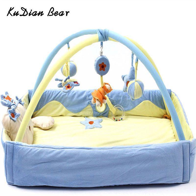 KUDIAN BEAR Baby Play Mat Baby Toy Tapete Infantil Educational Crawling Gym Mat Children Developing Carpet BYC156 PT49