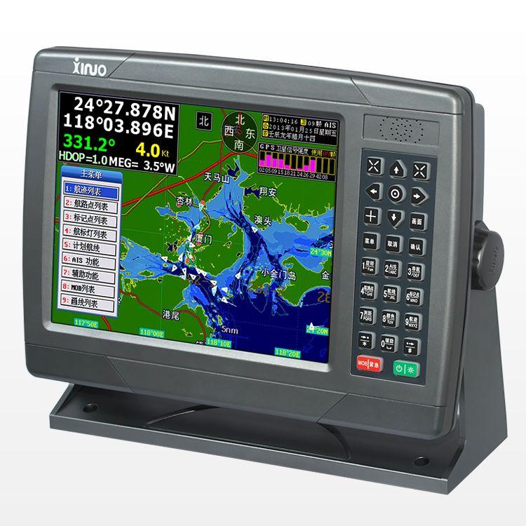 10 Inch Navigation Marine GPS Satellite Navigation Instrument Route Waterproof Language English