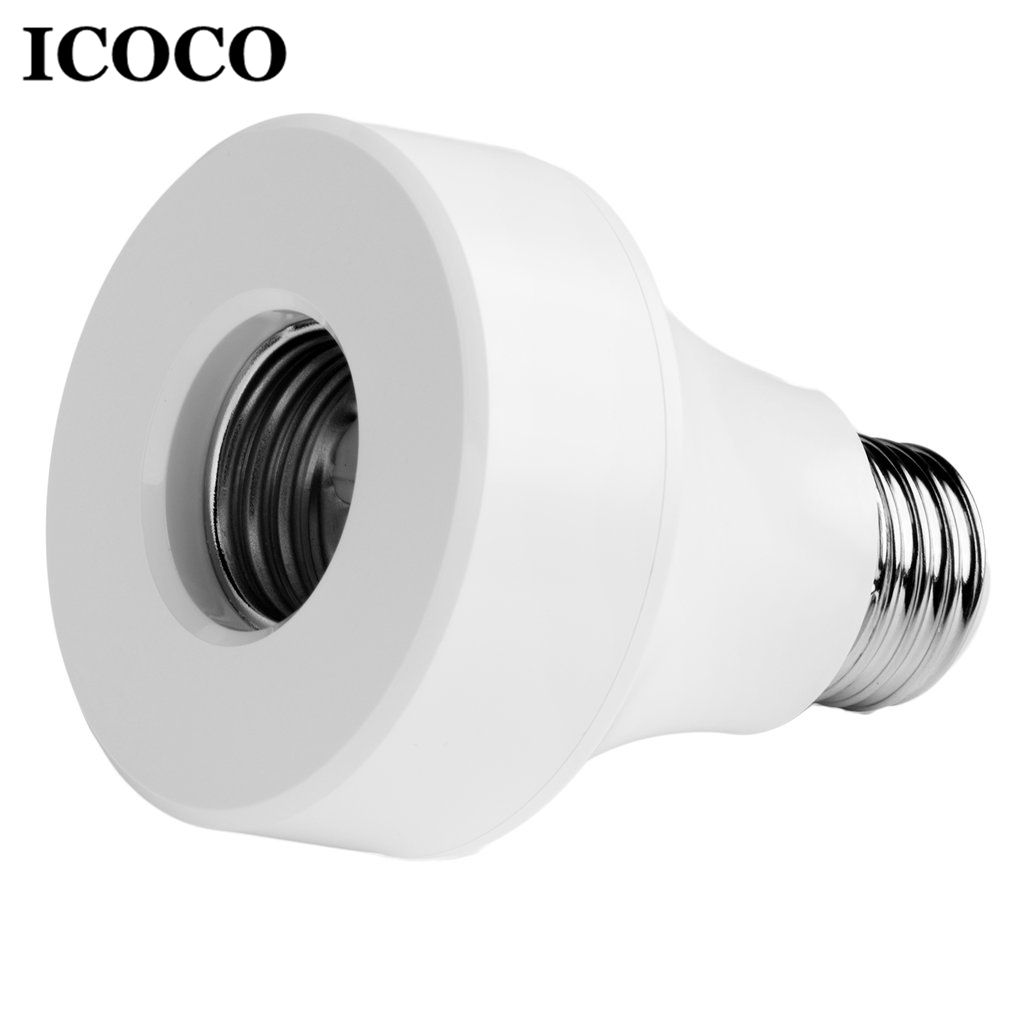 ICICO Universal Wifi Lamp Holder APP Remote Control Wireless Smart Light Bulb Adapter Socket Switch for E27/E26 Lamps Bulbs Base