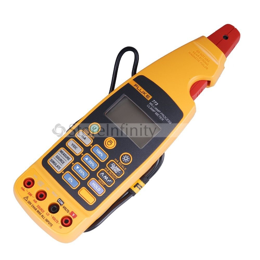 Fluke 773 Ma Prozess Clamp Meter DMM Volt Test MultiMeter
