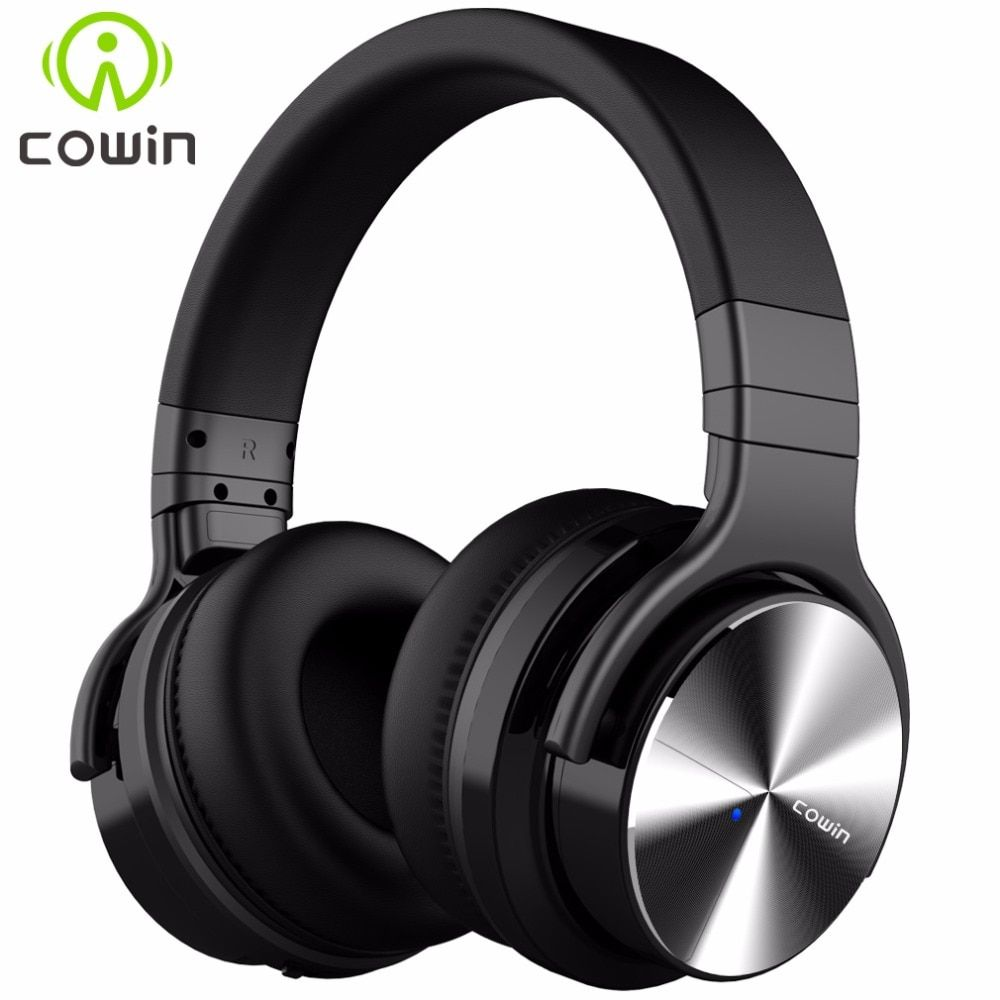 Cowin E7Pro Active Noise Cancelling Bluetooth Headphones Wireless Over Ear <font><b>Stereo</b></font> Headset with microphone for phone