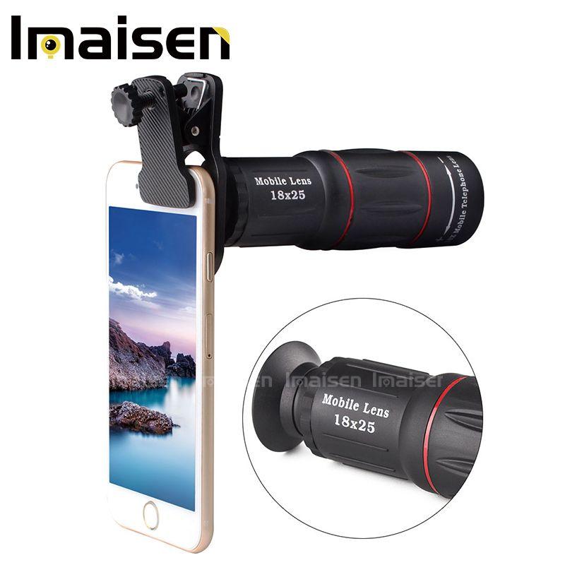 Mobile téléphone optique télescope 18X téléphone zoom camera lens pour téléphone portable