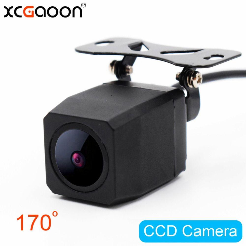 XCGaoon CCD HD Car Rear View Camera Waterproof ( IP67 ) 170 Degree Wide Angle Backup Camera Parking Reversing Assistance