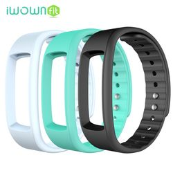 3 Colors Silicone Band Strap Replace Accessories For iWownfit I6 HR / I6 / i3 HR / I3 Smart Band Wristband Bracelet
