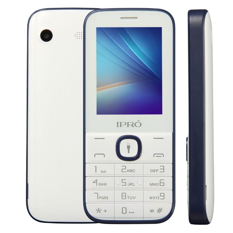 IPRO I324F Brand 2.4 Inch Celular Phone Dual Card Slot GSM Unlocked Mobile Phone With English Portuguese Spanish China Telephone