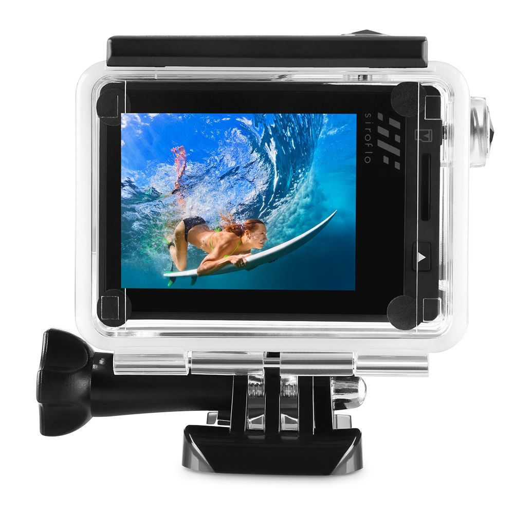 Siroflo FIREFLY 8 Bluetooth Remote Control WiFi 4k 2160P 98-Feet Waterproof Anti-Shake Ultra-Long Running Time Action Camera