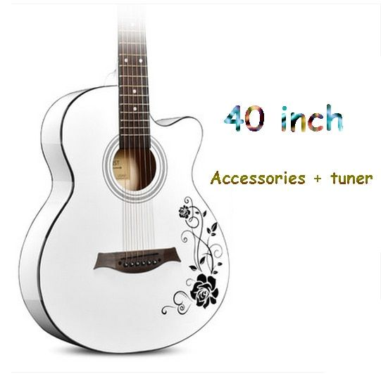 ANDREGuitar guitar 41 inch 40 inch acoustic guitar beginner beginner practice guitar student male and female musical instruments