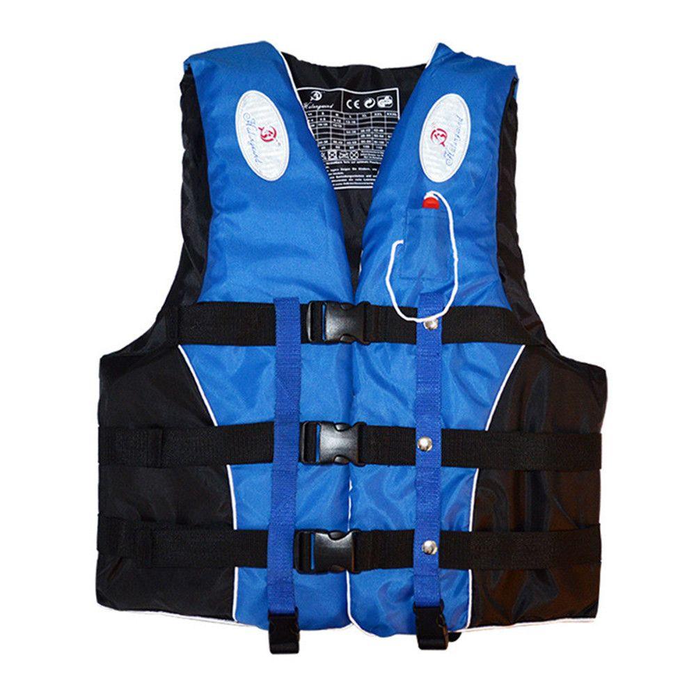 Haute qualité Enfants Adultes gilet de sauvetage Natation Nautique Surf Voile gilet De Natation Polyester veste de sécurité