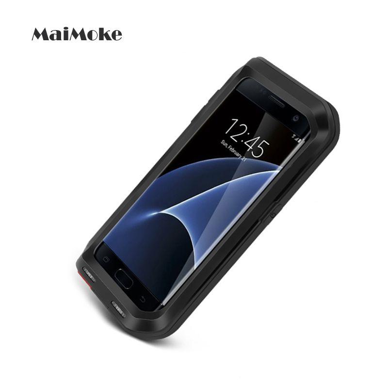 Cas de mode Pour Samsung S6 Métal Sports de Plein Air Couverture Pour Samsung S7 S5 S4 NOTE 4 Note 5 Cas Alliage Mobile Téléphone couverture