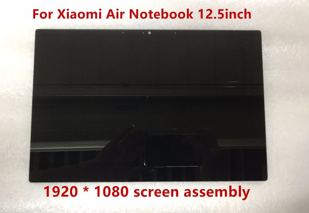 12.5 inch For Xiaomi Air Notebook LCD LED Screen Display Assembly 1920 X 1080 Resolution NV125FHM-N82 B125HAN02.2 30 pins IPS
