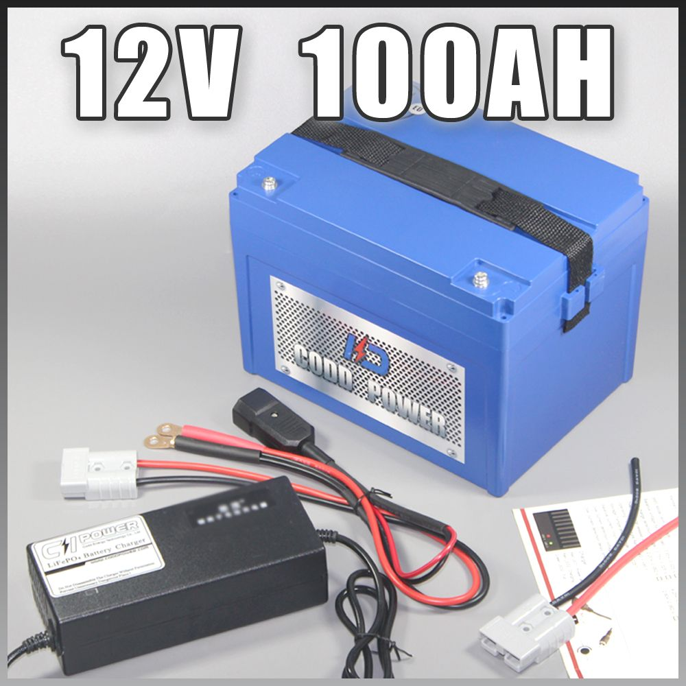 12v 100ah Lithium ion battery pack