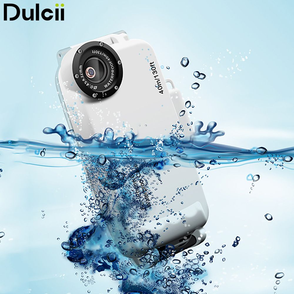 Dulcii 40M Waterproof for iPhone 6 Plus Case IPX8 Underwater Dive Waterproof Cover for iPhone 6s Plus iPhone6 Shell