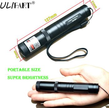 ULIFART 1Pc High Power JD 851 Green Laser Pointer Pen Military Puntero Laser Beam With Star Cap No Battery Dropshipping