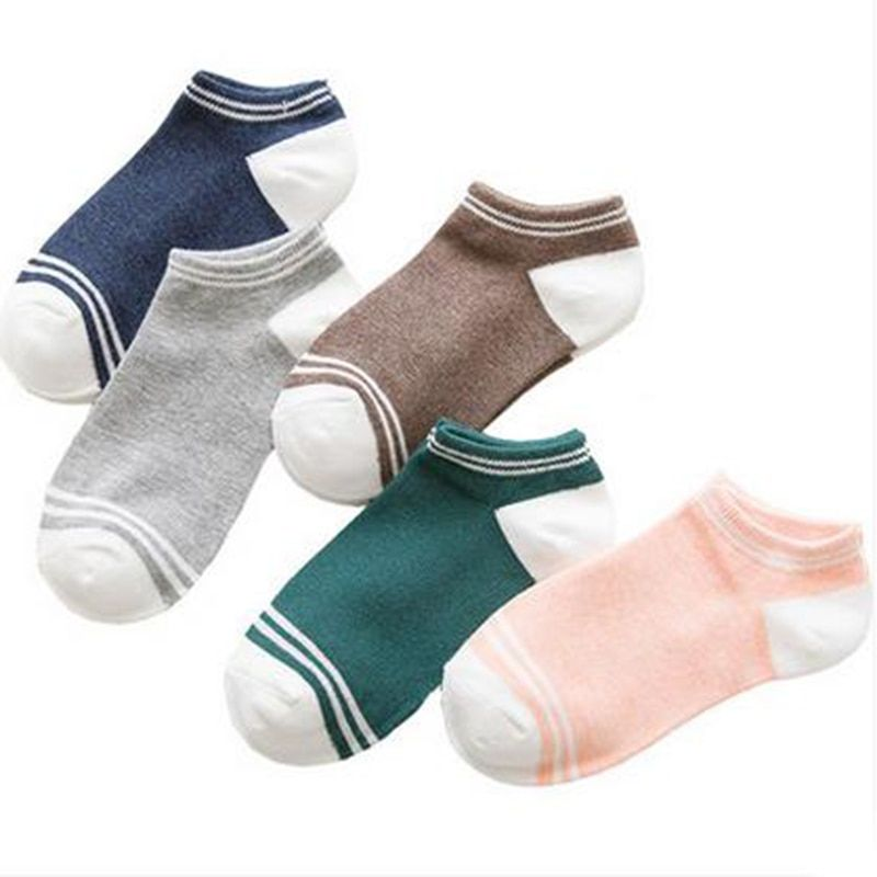 Хлопок носки-башмачки, силиконовые скольжения, низкая всасывания, дышащие носки, лето socks-20pairs