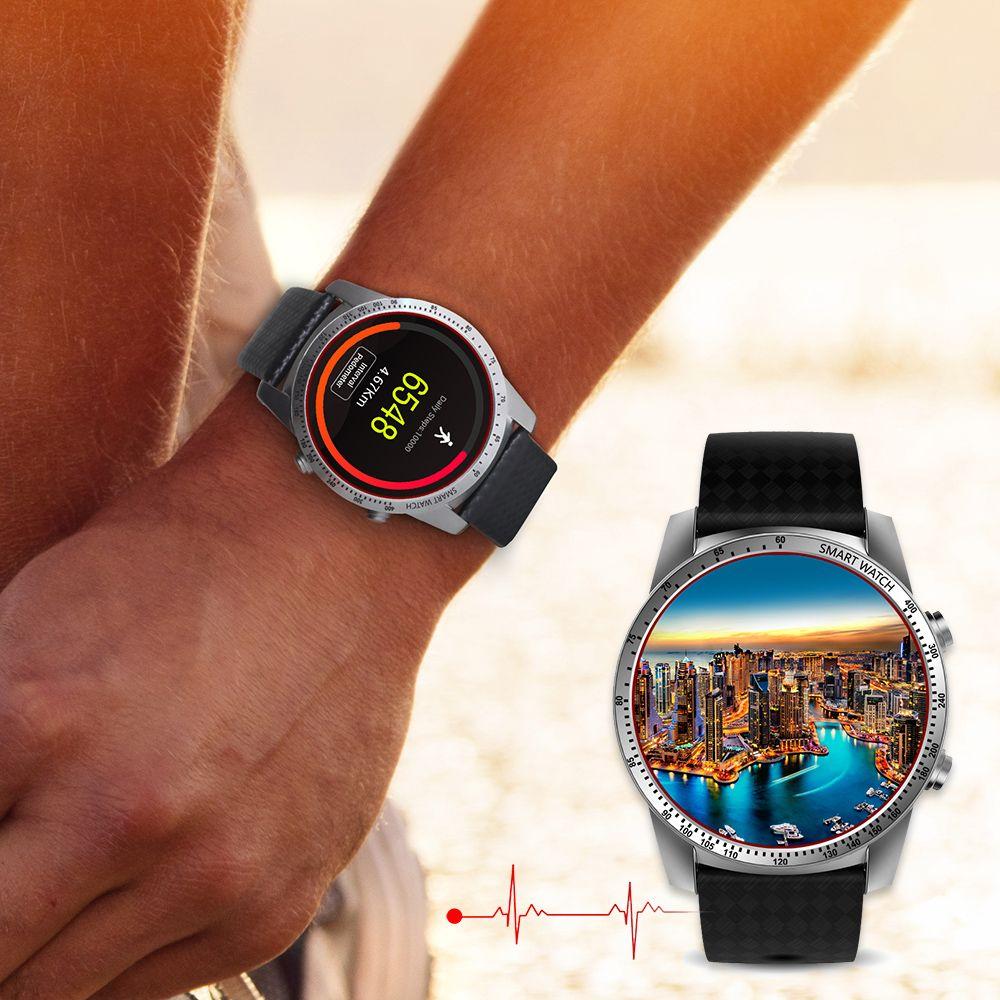 Jspb kw99 Android 5.1 Bluetooth 4.0 Смарт-часы MTK6580 3G 1.39 дюймов AMOLED WI-FI GPS сердечного ритма SmartWatch PK kw88 smartWatch