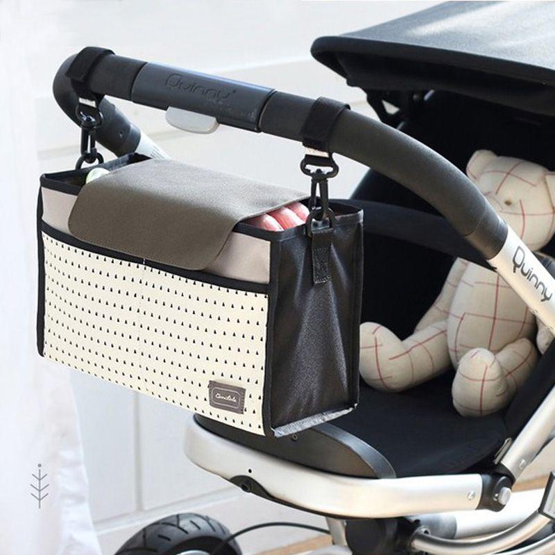 Sac de poussette de bébé sac général organisateur de poussette pour fauteuils roulants accessoires de poussette bébé landau Buggy sacs sac de chariot pour maman