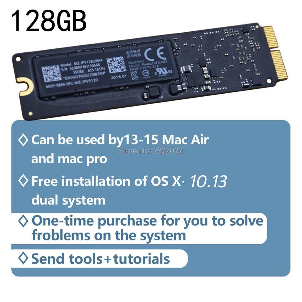 Original 128GB SSD For Macbook Air 2013 2014 2015 A1465 A1466 imac PRO 2013 2014 2015 2014 A1502 A1398mini SOLID STATE DISK