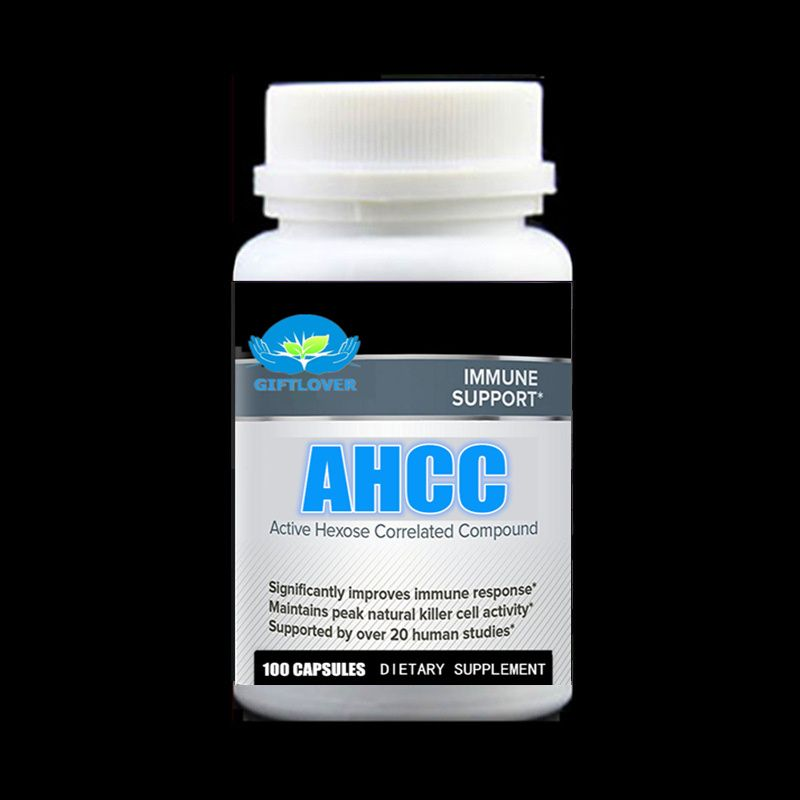 100pcs/bottle,AHCC Supplement - Powerful Supports Immune Health,Liver Function,Maintains Natural Killer Cell Activity