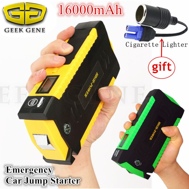 Mini Car Jump Starer 600A Portable Lighter Starting Device Power Bank 12V Car Charger For Car Battery Booster Diesel Car Starter